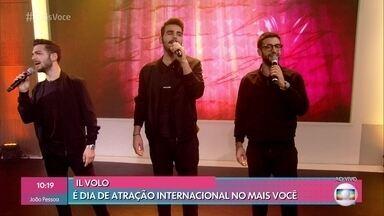 Trio Il Volo canta na Casa de Cristal - Cantores italianos dizem que Roberto Carlos é o grande ídolo brasileiro deles
