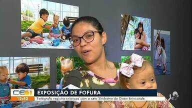 Fotógrafa faz exposição de crianças com e sem síndrome de down brincando - undefined