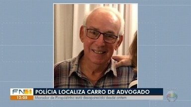 Polícia Civil de Pirapozinho investiga desaparecimento de advogado - Inquérito foi instaurado e diligências são realizadas.