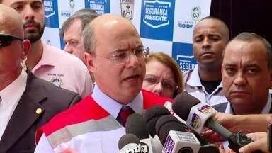 Governador Witzel se defende de acusações de Bolsonaro - O governador do Rio de Janeiro, Wilson Witzel, se defendeu, nesta quarta (30), das acusações do presidente. Mas não respondeu se avisou Bolsonaro sobre o depoimento do porteiro
