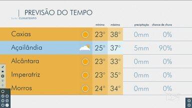 Veja as variações das temperaturas no Maranhão - Confira a previsão do tempo nesta quinta-feira (31) em São Luís e também no interior do estado.