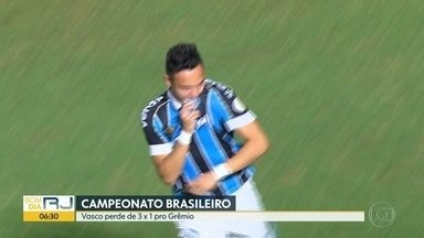Vasco perde para o Grêmio - Fluminense perde para o Ceará. Veja como foi a rodada do campeonato brasileiro.