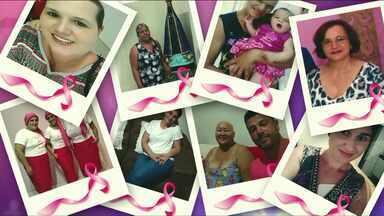 Meio-Dia Paraná faz homenagem para as mulheres que lutam contra o câncer - Nossos telespectadores enviaram fotos de mulheres que lutam ou já lutaram contra a doença.