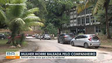 Mulher morre após ser baleada por companheiro que é policial militar em Salvador - Crime ocorreu no bairro de Itapuã, na noite de quarta-feira (31).