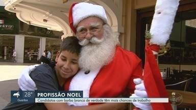 Ribeirão Preto tem vagas para Papai Noel com salário de até R$ 6 mil - O natal é uma ótima oportunidade de emprego para muita gente com barba e cabelos brancos de verdade.