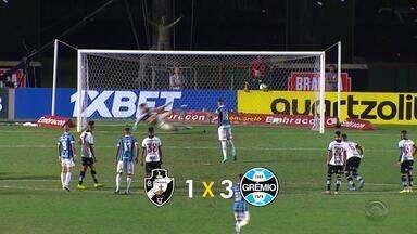 De virada, Grêmio vence o Vasco e entra no G-6 do Brasileirão - Tricolores começam a se preparar para o Gre-Nal do final de semana.