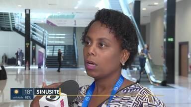 Maior congresso de otorrinolaringologia acontece em Brasília - Mais de 3 mil médicos se reúnem para discutir doenças como sinusite.