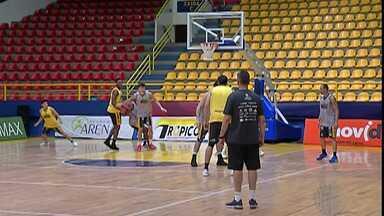 Mogi Basquete enfrenta o Pinheiros nesta sexta-feira - Jogo é pelo NBB.Time tenta manter a invencibilidade na competição.