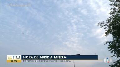 Confira imagens do céu na manhã desta sexta-feira (1°) - Confira imagens do céu na manhã desta sexta-feira (1°)