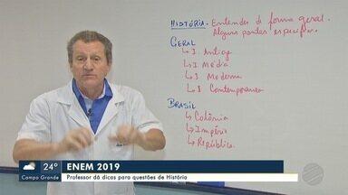 Professor dá dicas para questões de História do Enem - Professor dá dicas para questões de História do Enem