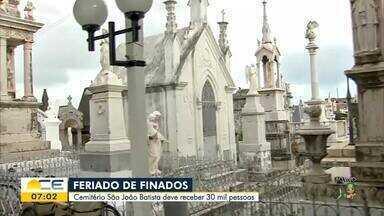 Cemitérios se preparam para o Dia de Finados - Saiba mais em g1.com.br/ce