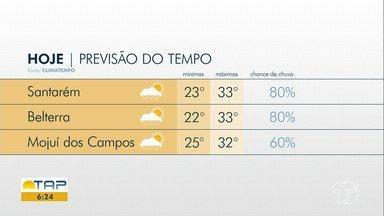 Saiba como fica o clima na região nos próximos dias - Confira a previsão do tempo para Santarém e região.