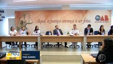 OAB/RN vai acionar Justiça para cobra responsabilização por óleo no litoral - OAB/RN vai acionar Justiça para cobra responsabilização por óleo no litoral