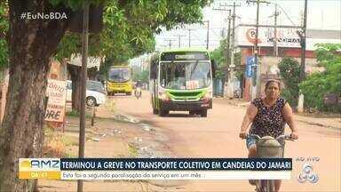 Transporte coletivo volta a funcionar em Candeias do Jamari - Funcionários fizeram paralisação na tarde de quinta-feira, 31.
