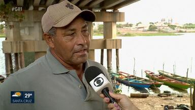 Começa O defeso da Piracema no Rio São Francisco - É a época em que os peixes fazem a reprodução e desova. Até 29 de fevereiro de 2020 os pescadores não podem pescar com rede.