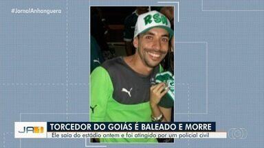 Família não acredita que torcedor do Goiás morto a tiros tenha participado de briga - Policial civil foi preso suspeito de ter baleado a vítima.