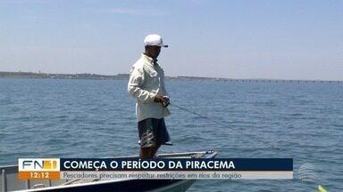 Período de piracema altera regras para a pesca na região de Presidente Prudente - Polícia Militar Ambiental vai intensificar a fiscalização.