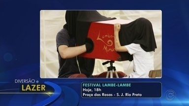 Confira os destaques da agenda cultural de Rio Preto e região - Confira os destaques da agenda cultural de São José do Rio Preto (SP) e região nesta sexta-feira (1º).