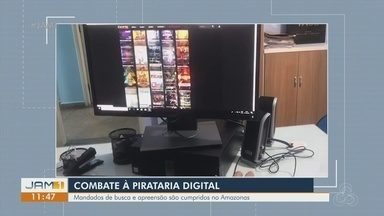 Operação contra pirataria digital cumpre mandados no Amazonas - Na capital, devem ser cumpridos três mandados de busca e apreensão.
