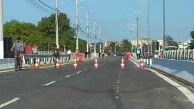 Ponte dos Anjos é inaugurado em Gravataí e expectativa é desafogar o trânsito da região - Trecho serve como caminho para o Litoral também.