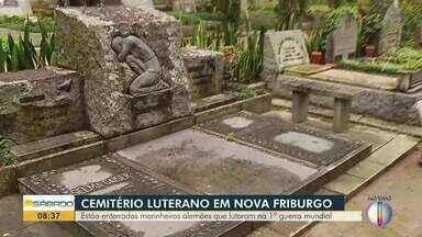 Cemitério em Nova Friburgo tem corpos de marinheiros alemãs que lutaram na 1ª Guerra - Túmulos ficam no Cemitério Luterano.