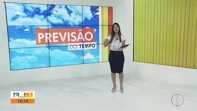 Confira a previsão do tempo para o interior do Rio - Veja as temperaturas para o sábado (2).
