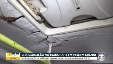Vargem Grande Paulista começa a implantação do transporte público gratuito - Prefeitura da cidade promete, além da gratuidade aumentar a frota de ônibus.