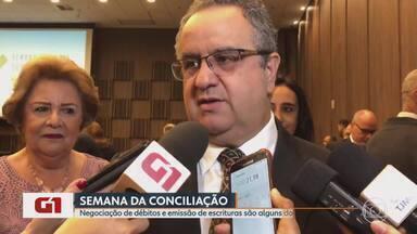 Justiça de Minas prevê 50 mil audiências na 14ª Semana de Conciliação - De acordo com o Tribunal de Justiça de Minas Gerais (TJMG), esses mutirões apresentam um índice de conciliação de 97%.