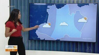 Confira a previsão do tempo no Amazonas para esta segunda-feira (4) - Karla Melo comenta.