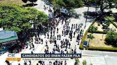 Quase 295 mil candidatos fizeram as provas do Enem no Ceará - Saiba mais no g1.com.br/ce