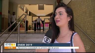 Nervosismo e ansiedade marcam o primeiro domingo de Enem em Cachoeiro, ES - Prova continua no próximo domingo.