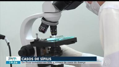 Casos de sífilis aumentam 30% em Picos - Casos de sífilis aumentam 30% em Picos