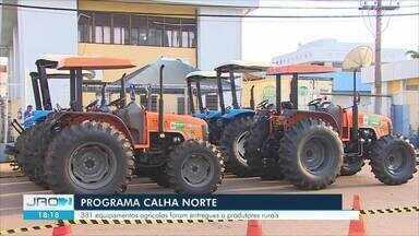 """Governo Federal entra mais de 300 máquinas ao setor agrícola de Rondônia - Ações fazem parte do programa """"Calha Norte""""."""