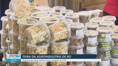 2ª edição da Feira da Agroindústria - Evento aconteceu nesta segunda-feira (4), em Porto Velho.