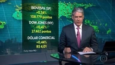 Bolsa de Valores de São Paulo encerra com novo recorde de pontos - Investidores estão otimista em relação ao megaleilão de petróleo marcado para quarta-feira.