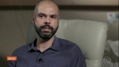 Novos exames detectam coágulo no coração de Bruno Covas - O prefeito de São Paulo permanece internado num hospital e passará por adequação na medicação.