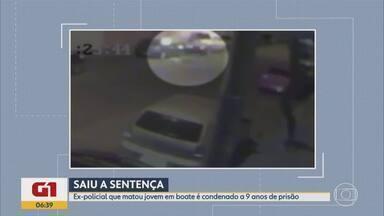 G1 no BDMG: Ex-policial é condenado a 9 anos de prisão por ter matado jovem a tiros em BH - O crime, ocorrido em 2015, aconteceu porque a vítima derrubou bebida na companheira de Nedilson Rocha Andrade. Ele poderá recorrer em liberdade.