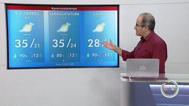 Confira previsão do tempo para esta terça-feira - Temperaturas devem ficar altas novamente.