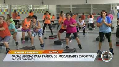 São José está com vagas abertas para 15 modalidades esportivas - São mais de 2 mil vagas abertas.