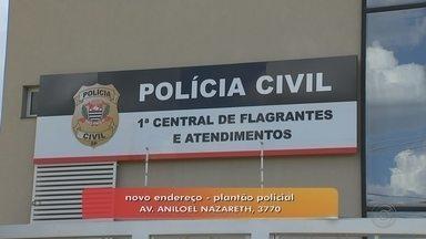 Central de Flagrantes muda de endereço em Rio Preto - A Central de Flagrantes de São José do Rio Preto (SP) mudou de lugar a partir desta segunda-feira (4). O prédio antigo, na Avenida América, no bairro Vila Cruz, vai deixar de funcionar.