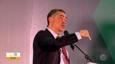 Ministro do STF realiza palestra em universidade de Presidente Prudente - Luis Roberto Barroso esteve no município nesta segunda-feira (4).