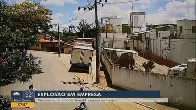 Vazamento de amônia leva 12 pessoas ao hospital em Santana do Jacaré, MG - Vazamento de amônia leva 12 pessoas ao hospital em Santana do Jacaré, MG