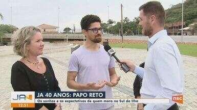 Papo Reto: Moradores do Sul de Florianópolis falam sobre o que esperam para o futuro - Papo Reto: Moradores do Sul de Florianópolis falam sobre o que esperam para o futuro