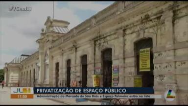 Prefeitura abre licitação para privatizar espaços públicos em Belém - Prefeitura abre licitação para privatizar espaços públicos em Belém