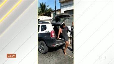Preso o suspeito de chefiar tráfico em comunidade de Itaguaí (RJ) - Michel de Oliveira Borges foi preso nesta terça-feira (5). Ele também é acusado de ser o responsável pela tentativa de matar um tenente da Polícia Militar e a família.