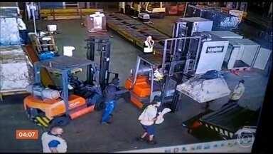 Presos em PE, suspeitos de de assalto no Aeroporto de Viracopos são levados para SP - Eles foram localizados por policiais federais em Caruaru.