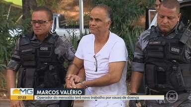 Justiça autoriza Marcos Valério a trocar de empresa - Ele cumpre pena em regime semiaberto. O empresário foi condenado pelos crimes de corrupção ativa, peculato, evasão de divisas e lavagem de dinheiro no Mensalão do PT.