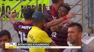Botafogo x Fla jogam no Engenhão - Zagueiro alvinegro Carli e atacante rubro-negro Bruno Henrique falam da importância do clássico.