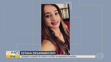 Sargento suspeito de matar jovem a tiros se entrega em Belo Horizonte - Depois da morte, uma foto do corpo foi publicada em rede social da vítima.
