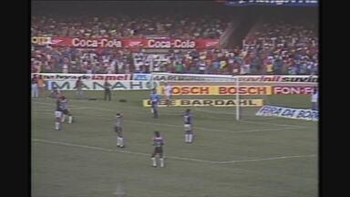 Melhores momentos da vitória do Cruzeiro, por 3 a 1, sobre o Atlético-MG no Mineiro de 90 - Melhores momentos da vitória do Cruzeiro, por 3 a 1, sobre o Atlético-MG no Mineiro de 90